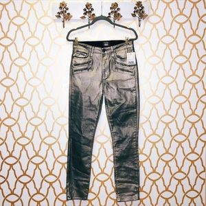 NWT Paige x Rosie HW Collection Metallic Jeans
